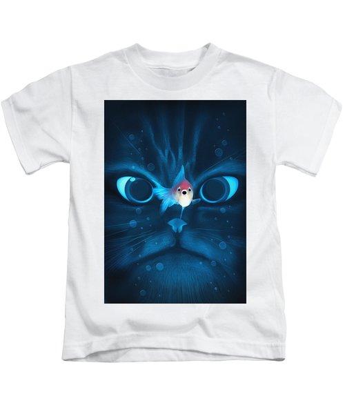 Cat Fish Kids T-Shirt