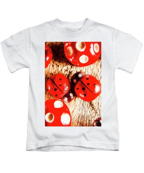 Caught The Love Bug Kids T-Shirt