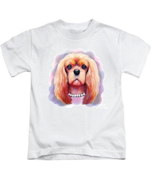 Cavalier Pearls  Kids T-Shirt