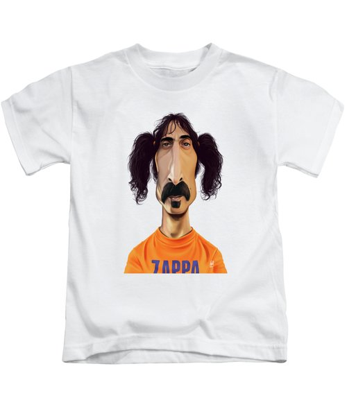 Celebrity Sunday - Frank Zappa Kids T-Shirt