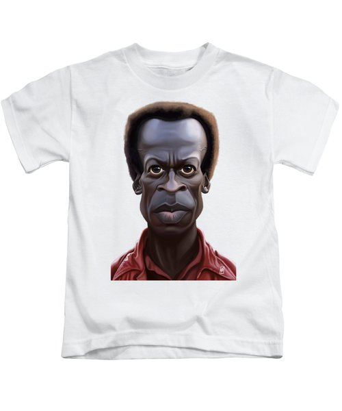 Celebrity Sunday - Miles Davies Kids T-Shirt