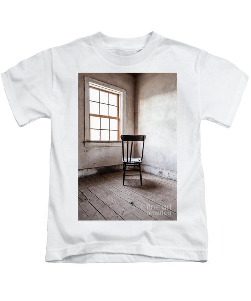 Chair By The Window Grafton Ghost Town Kids T-Shirt