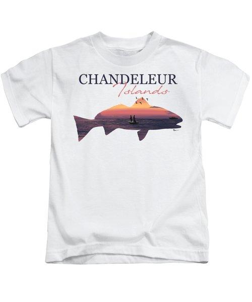 Chandeleur Red Kids T-Shirt