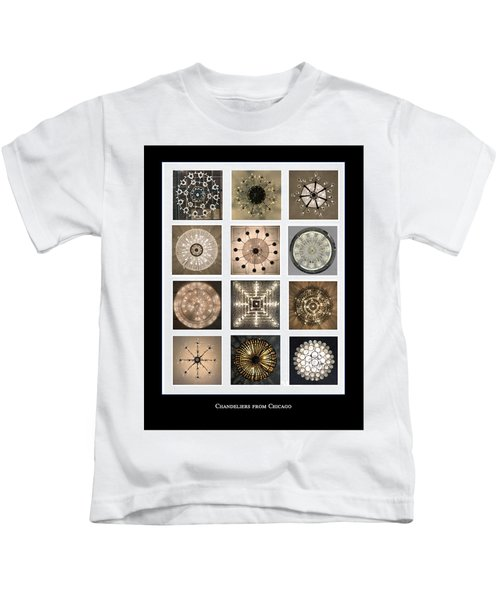 Chandeliers From Chicago Poster Kids T-Shirt
