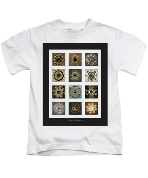 Collection Poster Chandeliers From Russia Kids T-Shirt