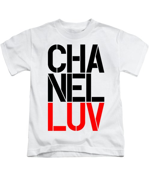 Chanel Luv-5 Kids T-Shirt