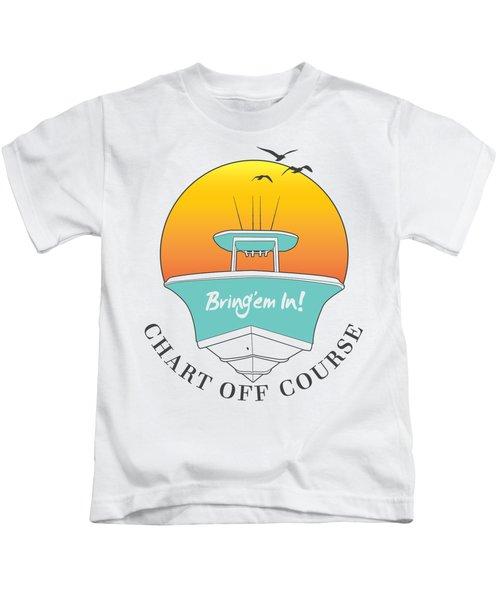 Chart Off Course Kids T-Shirt