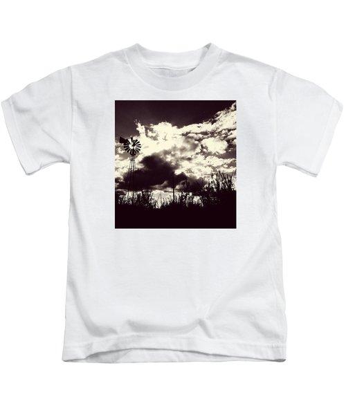 Chasing Windmills Kids T-Shirt