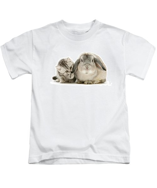 Checking For Grey Hares Kids T-Shirt