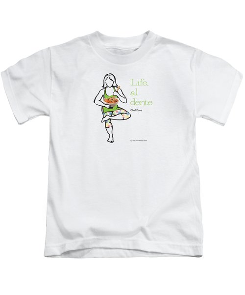Chef Pose Kids T-Shirt