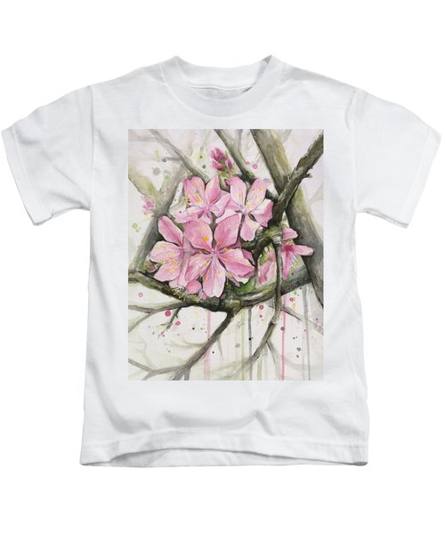 Cherry Blossom Kids T-Shirt