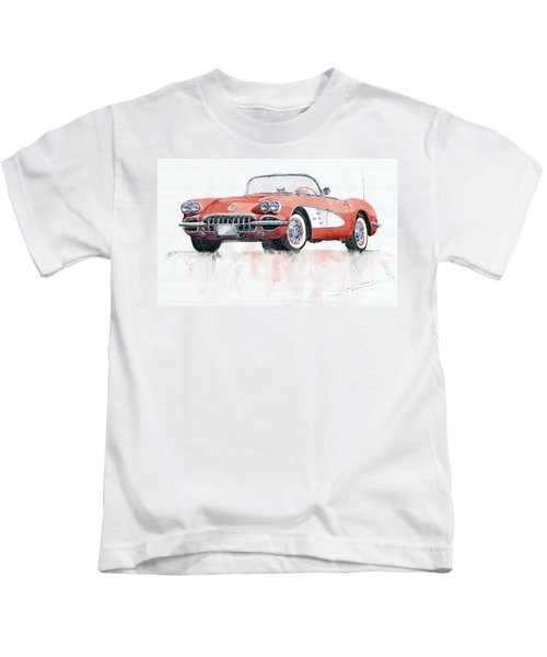 Chevrolet Corvette C1 1960  Kids T-Shirt