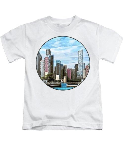 Chicago Il - Chicago Harbor Lock Kids T-Shirt