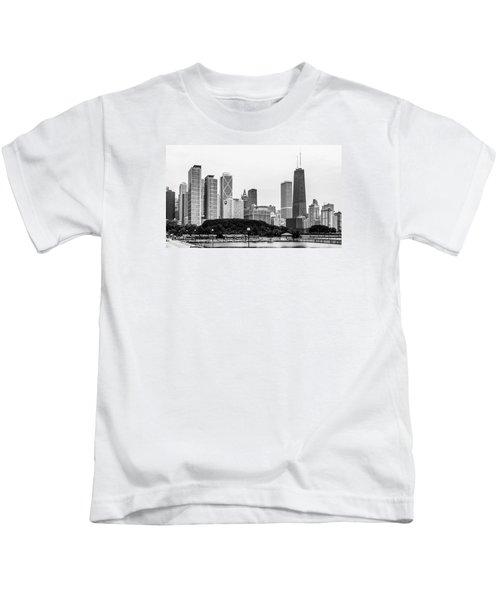 Chicago Skyline Architecture Kids T-Shirt