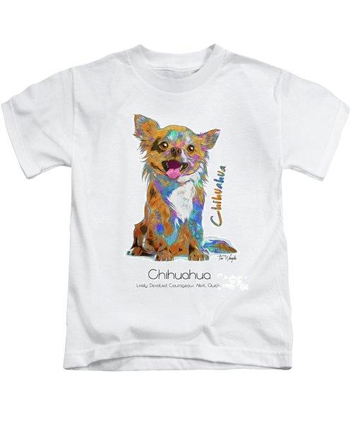 Chihuahua Pop Art Kids T-Shirt