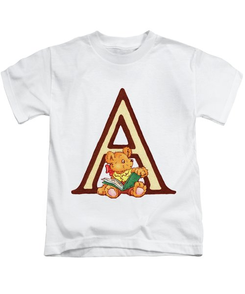 Children's Letter A Kids T-Shirt