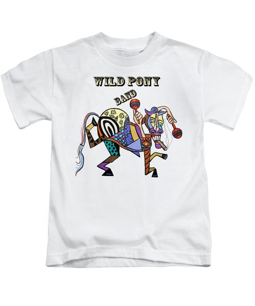 Chilli Peppers Wild Pony Kids T-Shirt