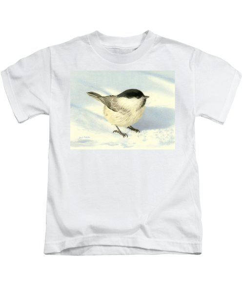 Chilly Chickadee Kids T-Shirt