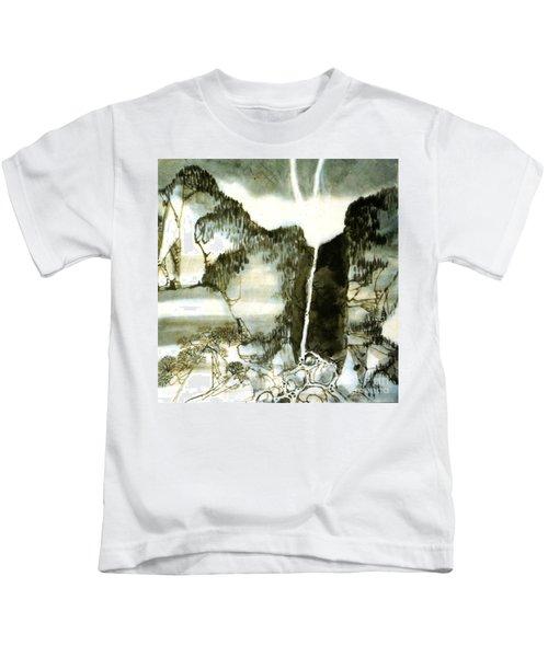 Chinese Landscape #2 Kids T-Shirt