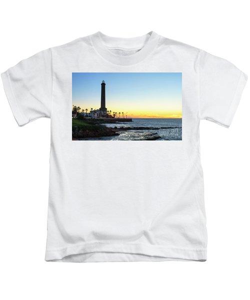 Chipiona Lighthouse Cadiz Spain Kids T-Shirt