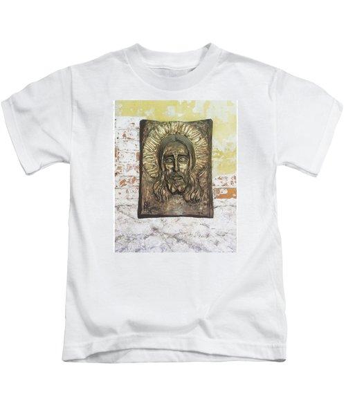 #christ #christians #religion #face Kids T-Shirt
