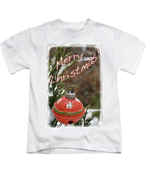 Christmas Bell Ornament Kids T-Shirt