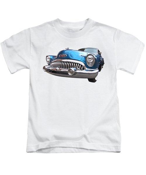 Chrome Heaven - Buick Riviera 1953 Kids T-Shirt