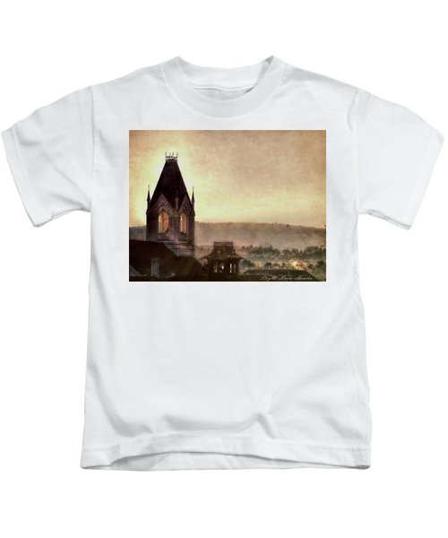 Church Steeple 4 For Cup Kids T-Shirt