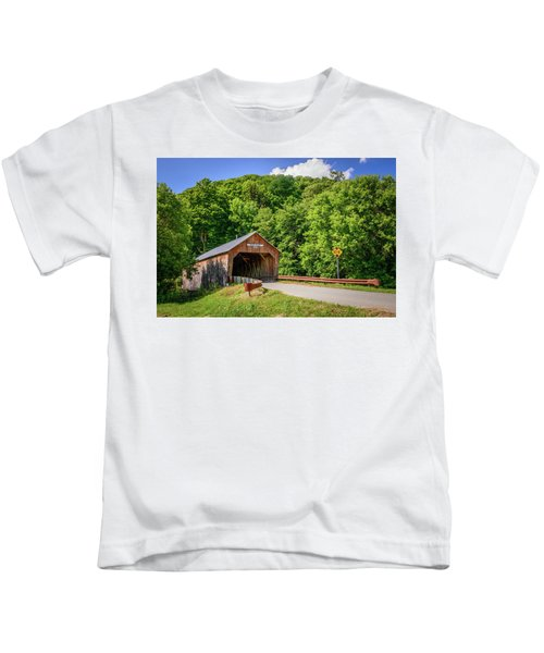 Cilley Bridge Kids T-Shirt