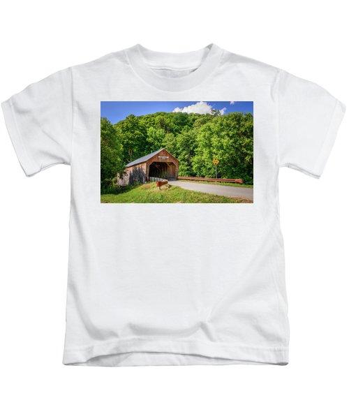 Cilley Bridge Kids T-Shirt
