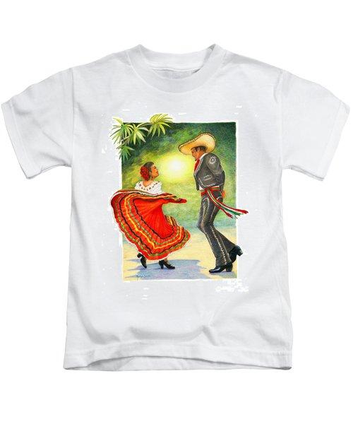 Cinco De Mayo Dancers Kids T-Shirt