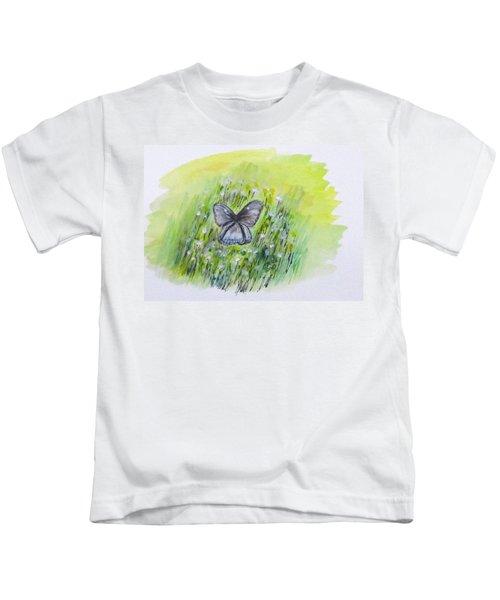 Cindy's Butterfly Kids T-Shirt