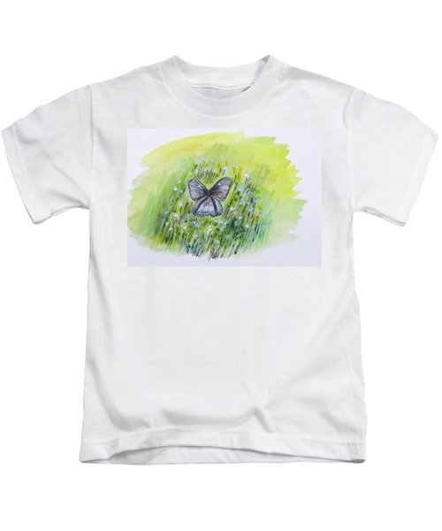 Cindy's Butterfly Kids T-Shirt