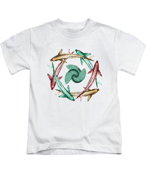 Circle Kids T-Shirt by Deborah Smith