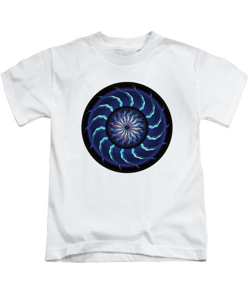 Circularium No 2711 Kids T-Shirt