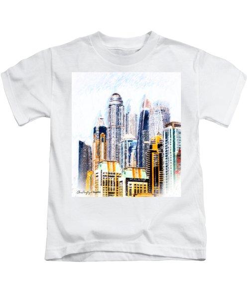 City Abstract Kids T-Shirt