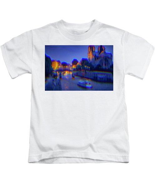 City Of Lights Kids T-Shirt