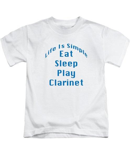 Clarinet Eat Sleep Play Clarinet 5512.02 Kids T-Shirt