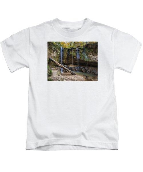 Clark Creek Waterfall No. 1 Kids T-Shirt