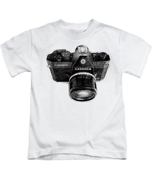 Classic Yashica Slr Film Camera Kids T-Shirt