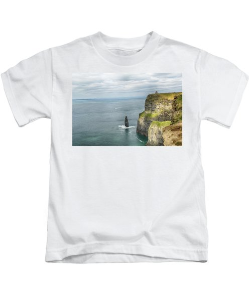 Cliffs Of Moher 3 Kids T-Shirt