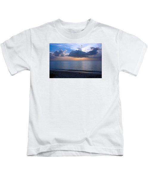 Cloud Creatures At Delnor Wiggins Pass State Park Kids T-Shirt