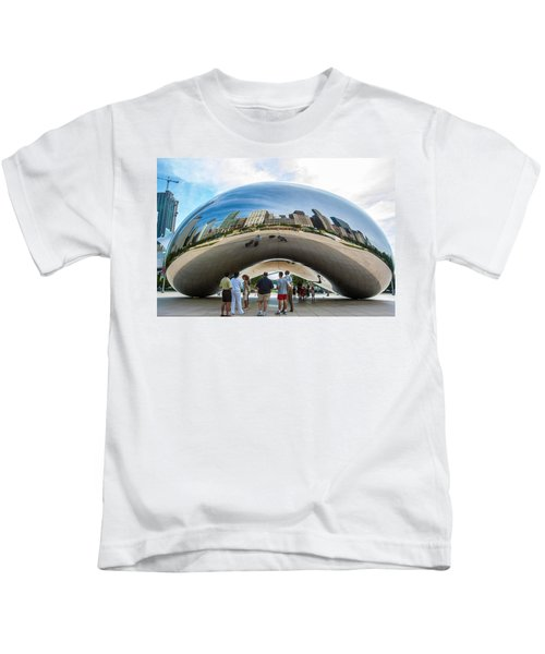 Cloud Gate Aka Chicago Bean Kids T-Shirt