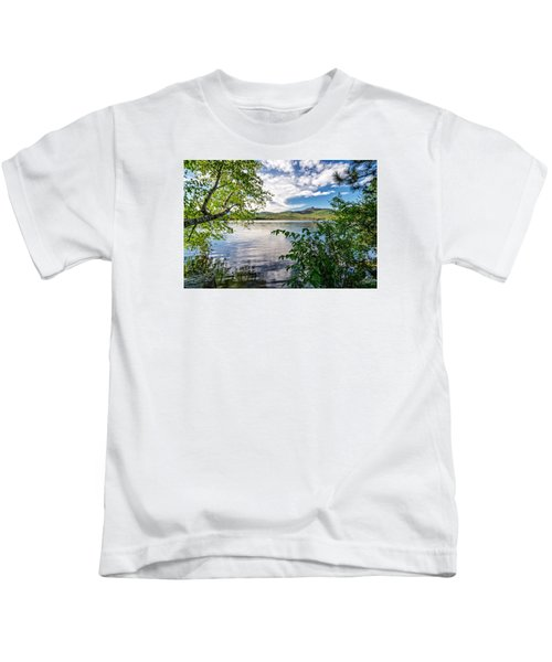 Cloud Swirl Mt. Chocorua Nh Kids T-Shirt