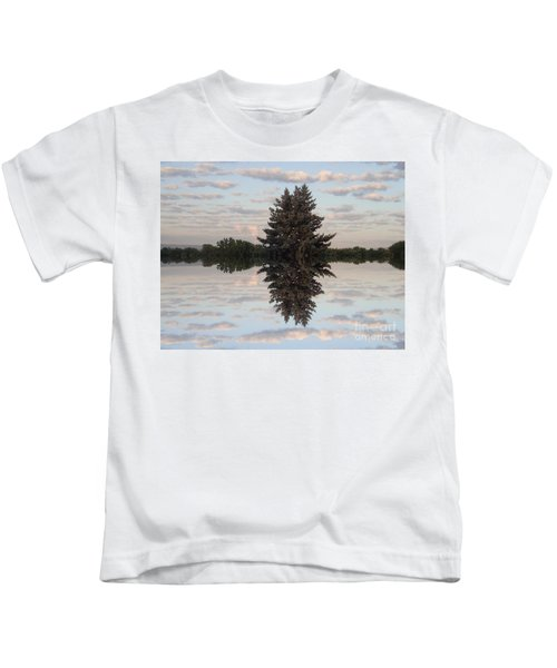 Clouds Up And Down Kids T-Shirt