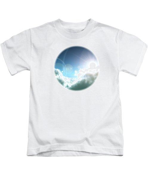 Cloudy Sun Kids T-Shirt