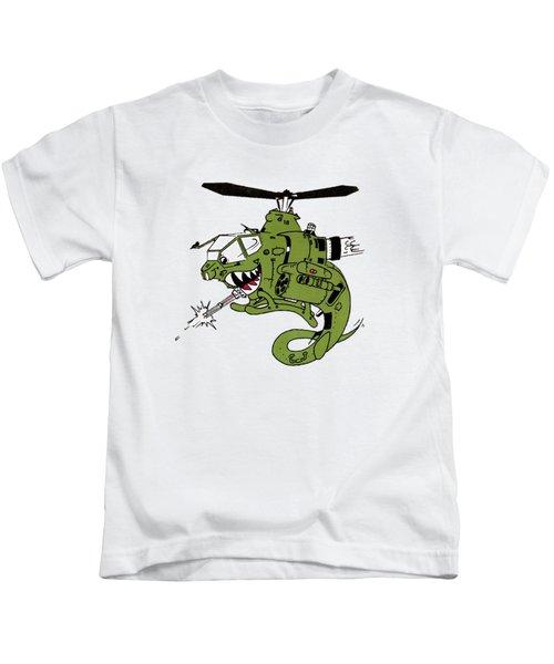 Cobra Kids T-Shirt by Julio Lopez