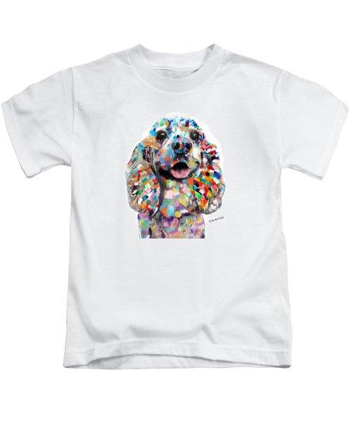 Cocker Spaniel Head Kids T-Shirt