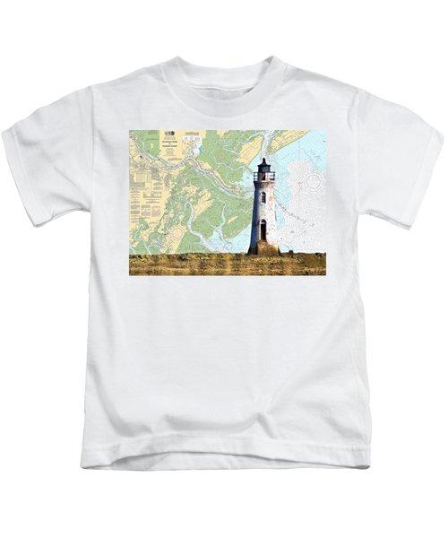 Cockspur On Navigation Chart Kids T-Shirt