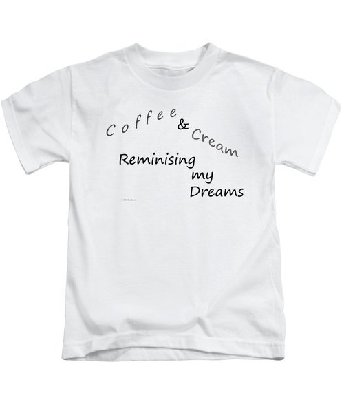 Coffee And Cream Mug Kids T-Shirt